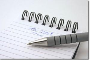 Créer une liste de tâches